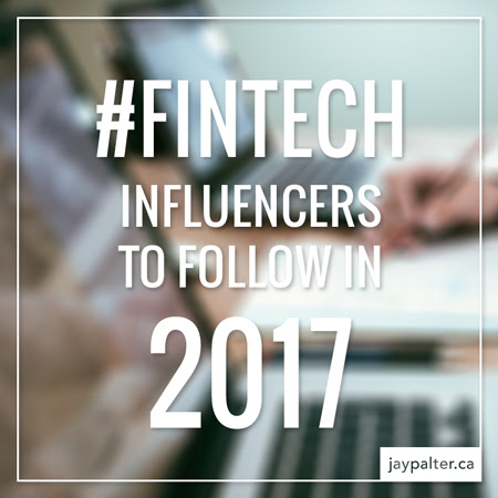 Fintech Influencers to follow in 2017