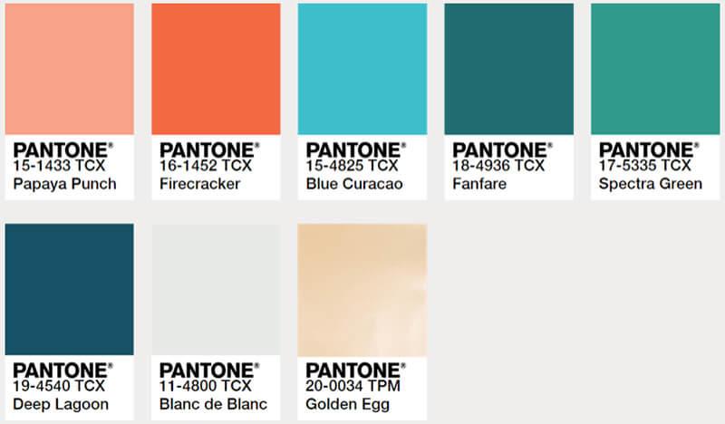 Hochzeitsfarben Inspirationen In 4 Trendigen Farbpaletten Hochzeitskiste