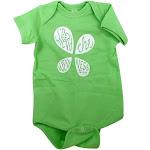 LuckyVitamin Gear Infant Onesie 6 Months Green