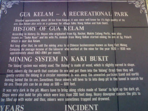 Gua Kelam, Perlis