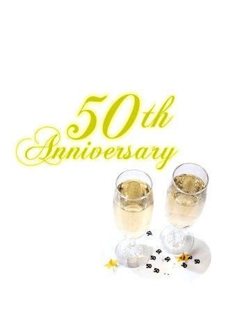 50th Wedding Anniversary Poems and Toasts   50th
