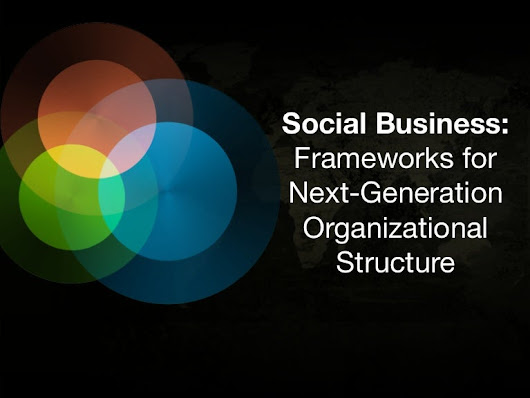 Social Business: Frameworks for Next-Gen Organizational Structure |...