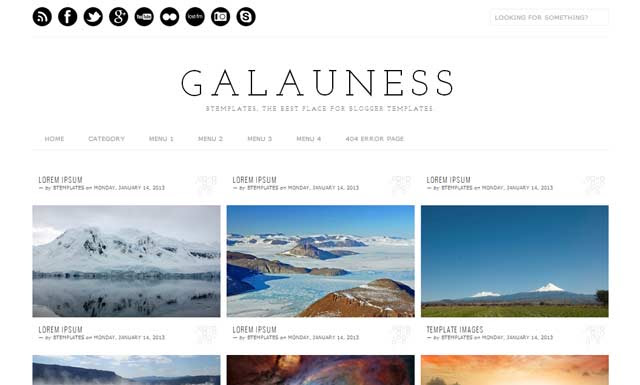 Galuness free Blogger Templates 2013 download 25+ Best Free Magazine Blogger Templates for 2013 Download