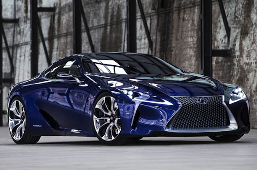 Lexus files to copyright LC 500 nameplates [UPDATE]