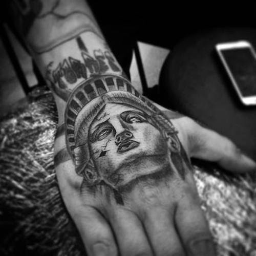 10 Powerful Statue Of Liberty Tattoos Tattoocom