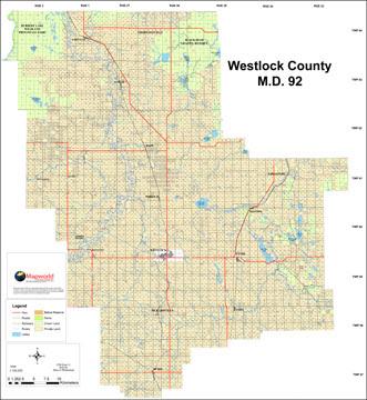Westlock County Map Westlock County Map | Bathroom 2018