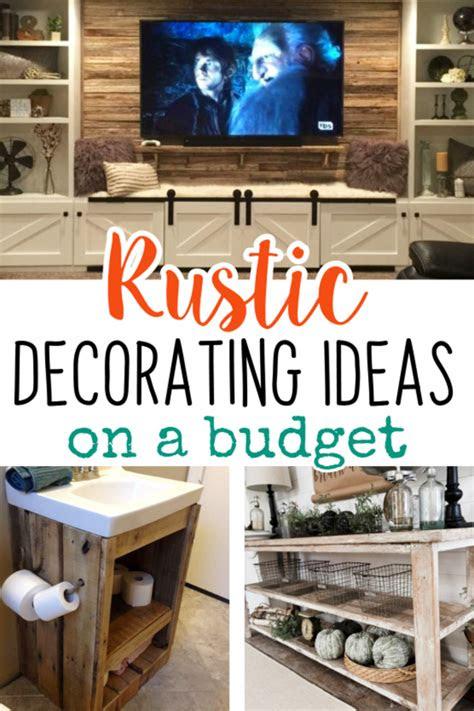 easy diy rustic home decor ideas   budget involvery