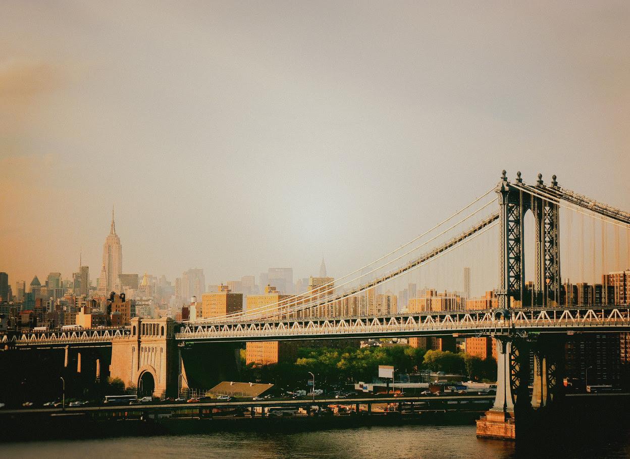 The Manhattan Bridge and the New York City... | NY Through ...
