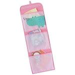 Redmon 7107PK Kids Hanging Wall Pockets - Pink