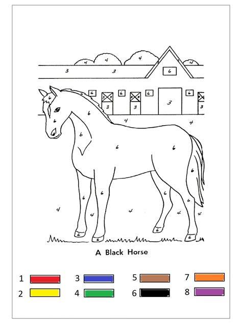 farm animal color  number  funnycrafts