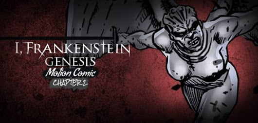 I, Frankenstein Final Poster and Graphic Pre-Novel