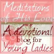 Meditations Of His Love, A devotional blog