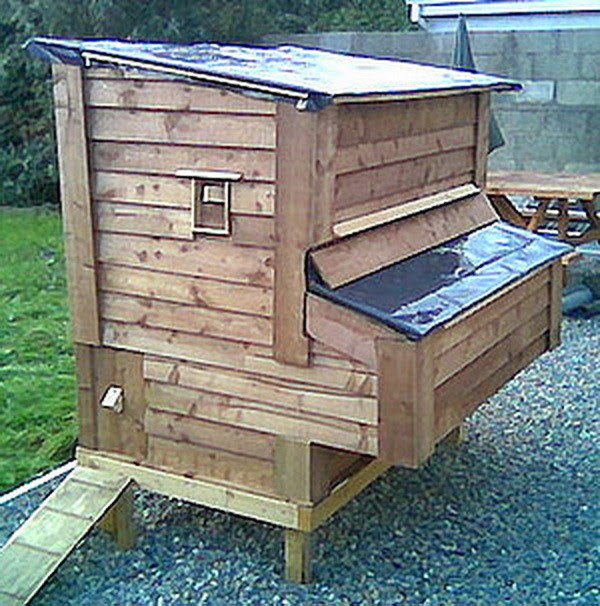 Make chicken coop from pallets Must see | Coop Channel