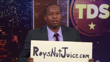 'The Daily Show' correspondent Roy Wood Jr. drags Trump's No. 1 black fan.