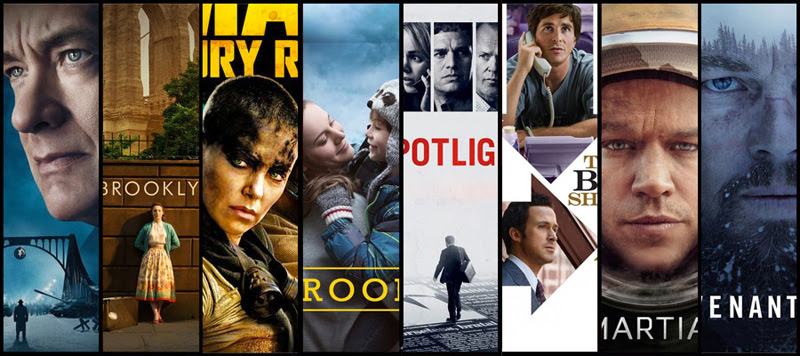 The 88th Academy Awards - 2016 Winners • Frame Rated