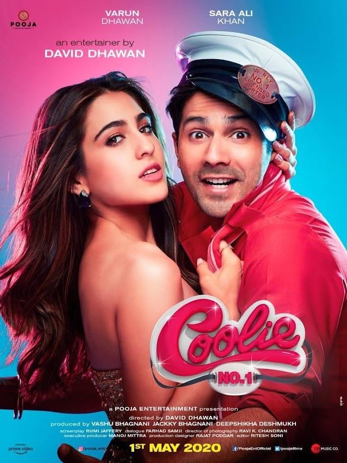 Coolie No. 1 (2020) Hindi 1080p HDRip x264 AAC 5.1 ESubs Full Bollywood Movie