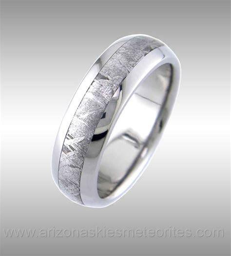 Meteorite Ring. Nuff said.   Wedding rings   Meteorite