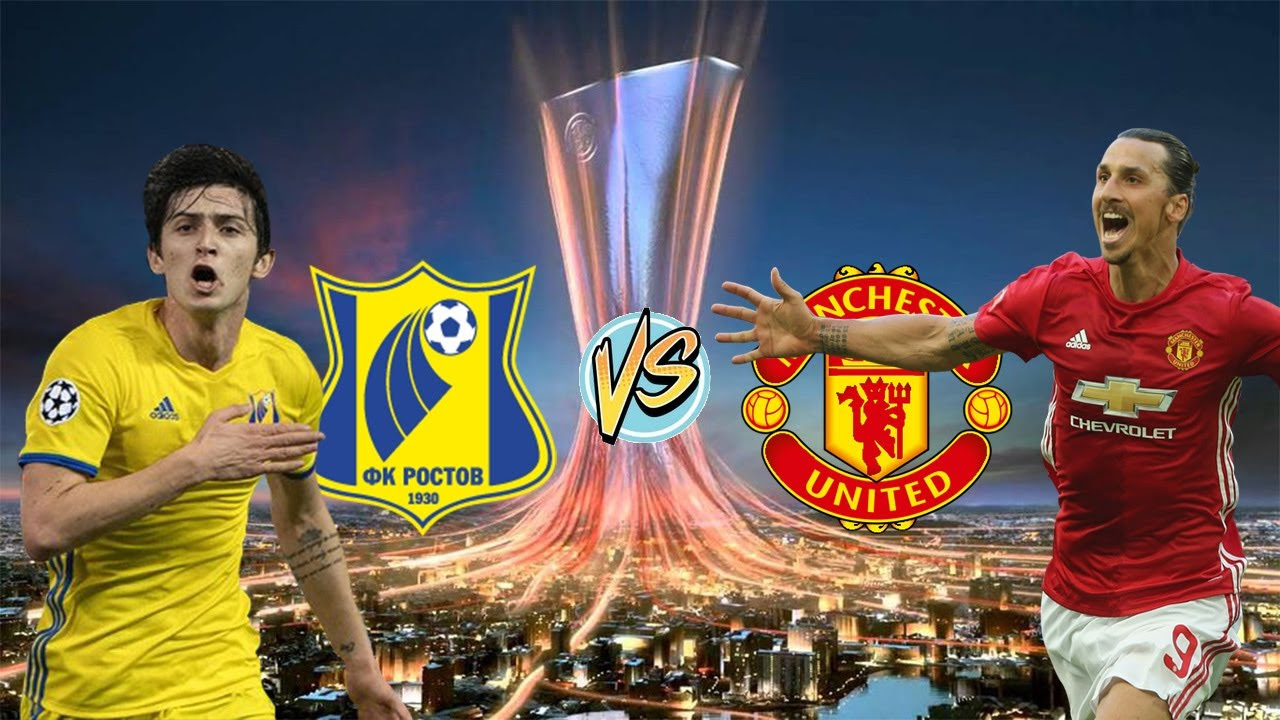 Image result for rostov vs man utd
