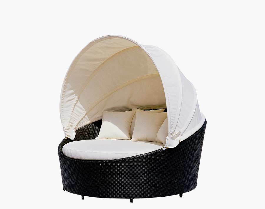 VG10 Round Outdoor Day Bed | Outdoor patio beds