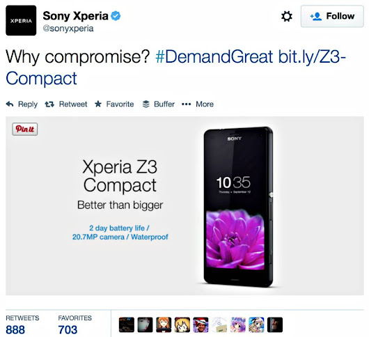15 Ways Sony Xperia Z3 Compact Bests iPhone 6 | VisibleBanking.com