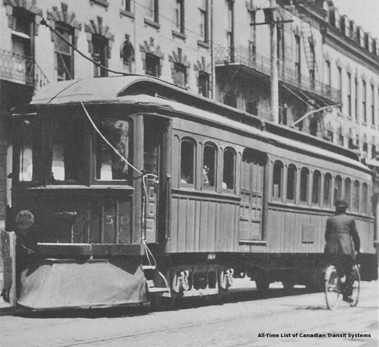 Grand Valley 50 (ex BRANTFORD Re# 1907) radial car (acq ...