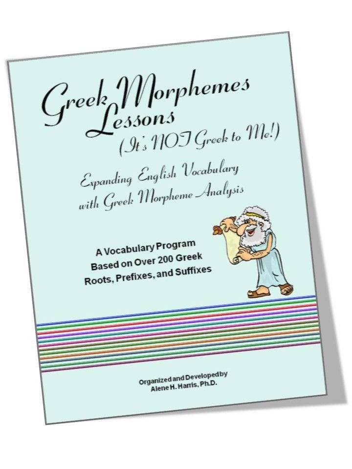 Unexpected Homeschool: Review - Ready to Teach: Greek Morphemes Lessons (It's NOT Greek to Me)
