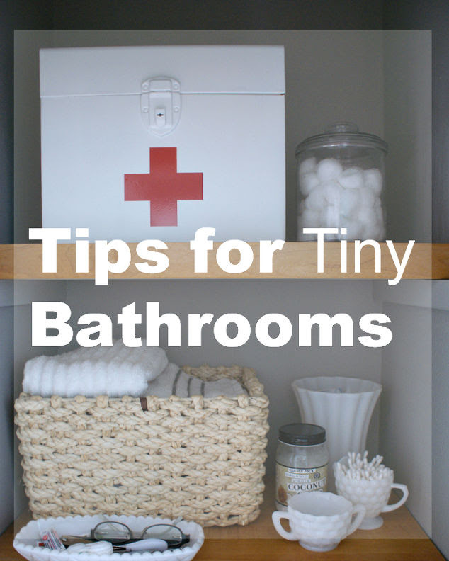 Tips for Tiny Bathrooms | Hometalk