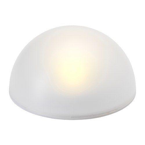 Ikea - SOLVINDEN Solar-powered lighting, half globe   Lighting