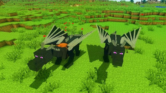 Dragon Mounts Mod For Minecraft - Awesome