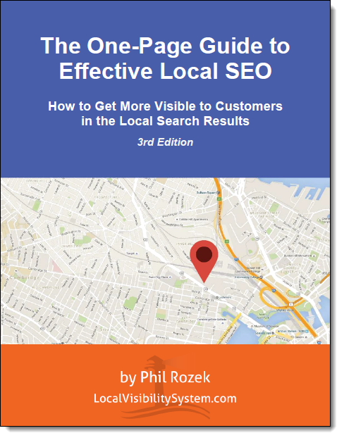 3rd Edition of Free Guide to Effective Local SEO | LocalVisibilitySystem.com