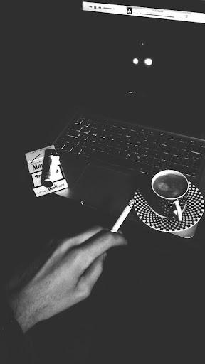 Cigarette Tumblr Smoke Marlboro Gold Fag Coffee