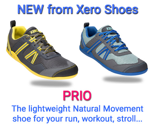 PRIO — the NEW minimalist running/fitness shoe from Xero Shoes!