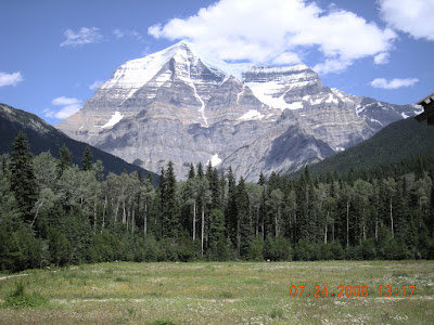 Mount Robson is the Highest Peak in the Canadian Rockies