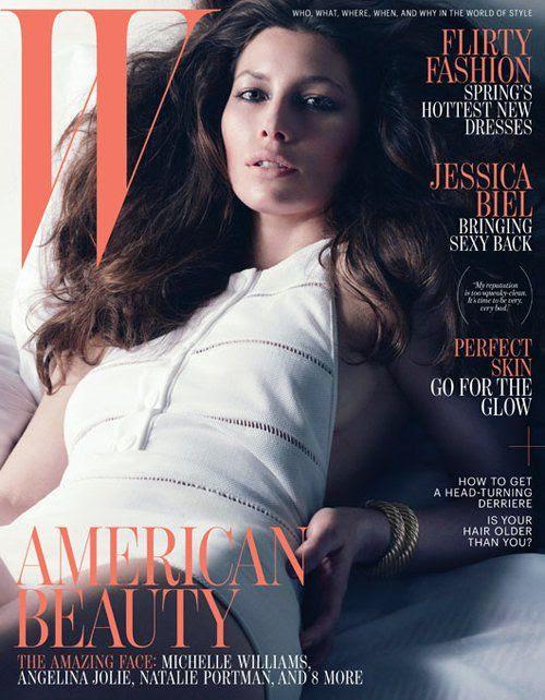 W Magazine - April 2012, Jessica Biel