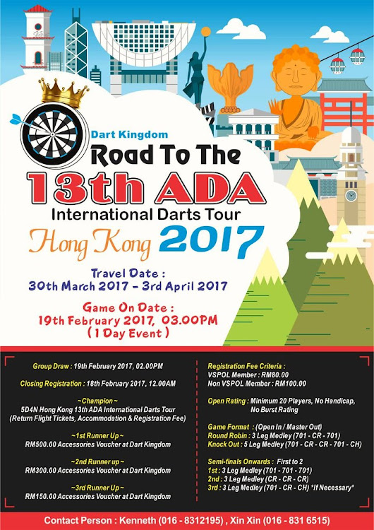 Road to 13th ADA 2017
