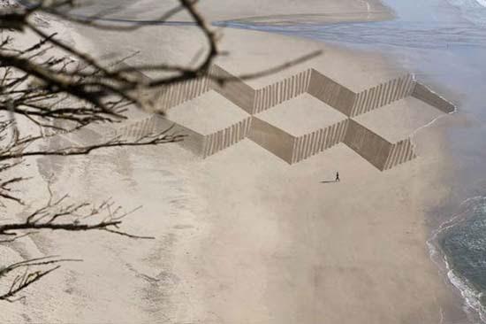 Εξωπραγματική τέχνη σε παραλίες από τον Jim Denevan (13)