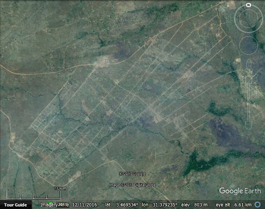 Bidi Bidi Refugee Settlement in Google Earth - Google Earth Blog
