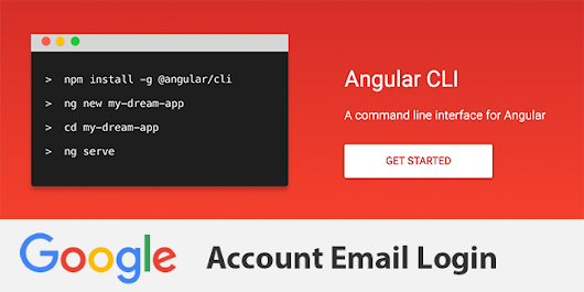 Angular 4 TypeScript Google Account Email Login and Routing