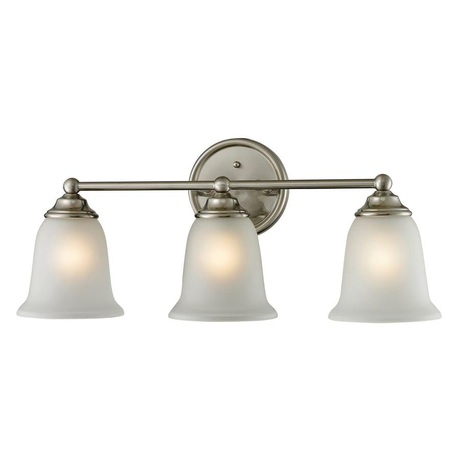 Shop Westmore Lighting 3-Light Landisville Brushed Nickel ...