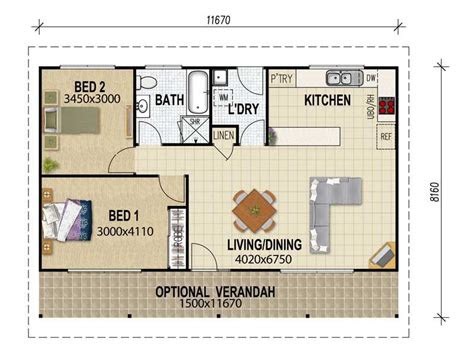 granny flat plans  pinterest granny flat  house