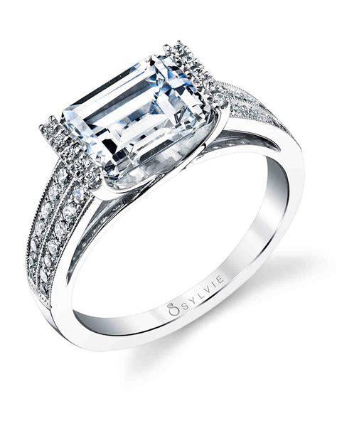 34 Elegant Emerald Cut Engagement Rings   Martha Stewart