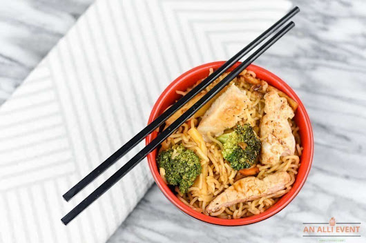 Miso Pork Ramen Stir-Fry in 20 Minutes - An Alli Event