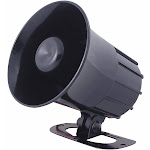 "Speco Technologies Weatherproof Alarm Siren,4""H,Black SA4P"