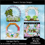 Clusters Frame - Garden Party