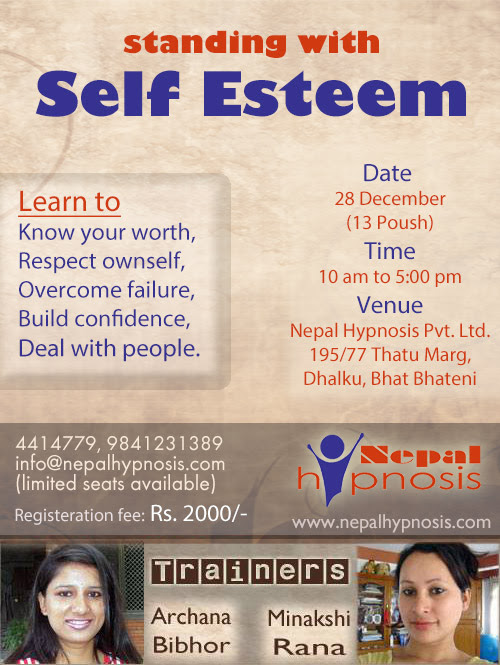 1 Day Interactive Workshop | Nepal Hypnosis