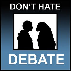 don't hate :: debate