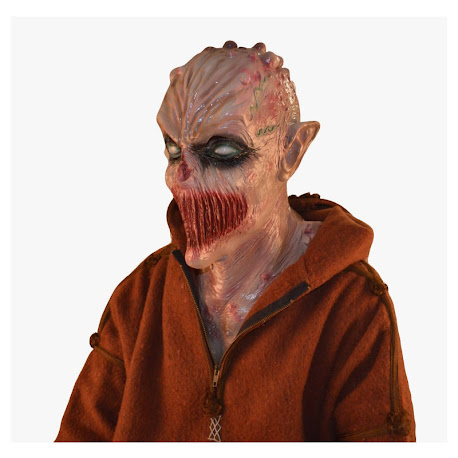 Pestilenz Horror Alien Dämon Monster Maske