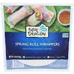 Blue Dragon Vegan Spring Wrappers - 16oz/16ct