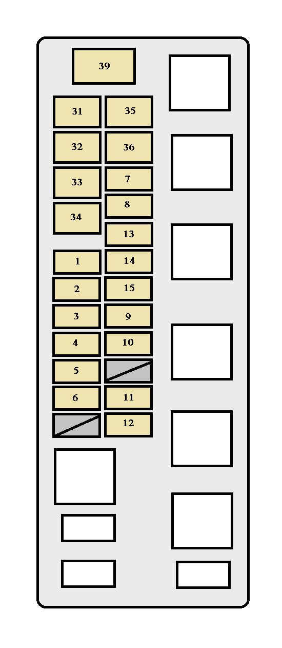 Toyota Tundra 2000 Fuse Box Diagram Auto Genius