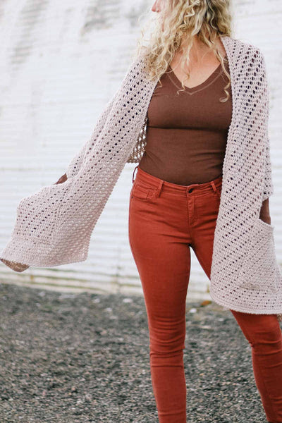Crochet Kit - Stay at Home Pocket Shawl